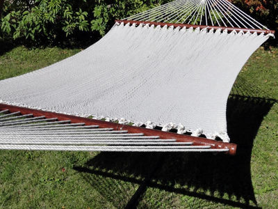 Hammock Double Polyester Deluxe +  15FT Stand | Hammock Universe cream