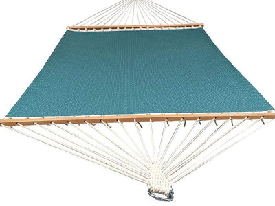 poolside double hammock in light blue
