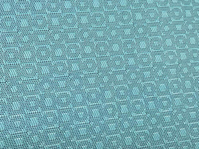 light blue double poolside hammock pattern fabric