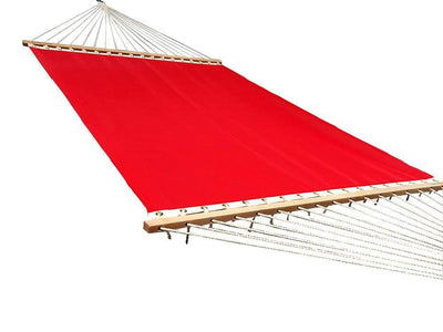 Poolside hammock double in red