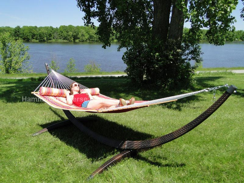 Quilted Hammock with Stand - Buy Online - Hammock Universe ...