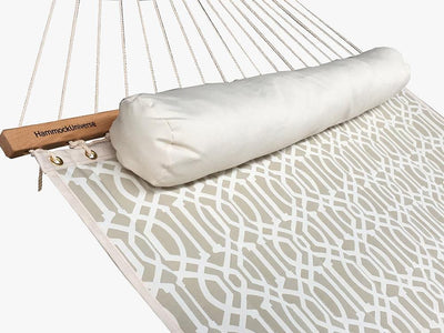 Country beige quilted double hammock