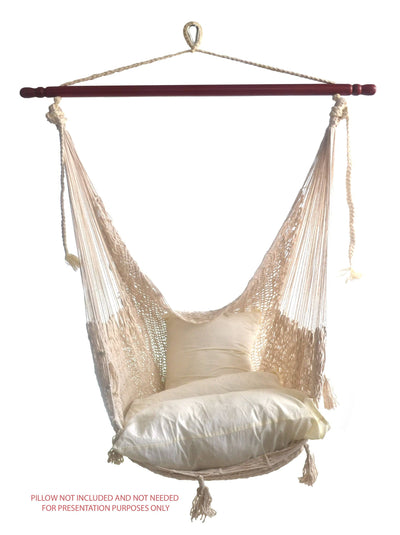 Deluxe Mayan Hammock Chair with Universal Chair Stand - Hammock Universe Canada