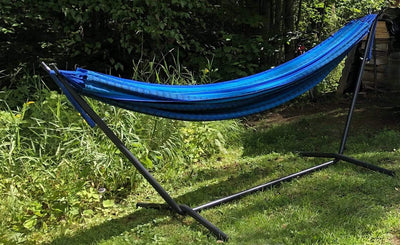 Hammock Universe Canada Deluxe Brazilian Double Hammock with Universal Stand cabo / ca 794604045504 20190+75121