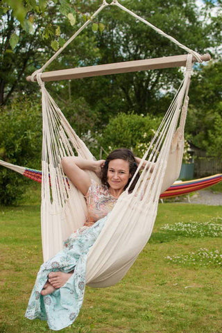 Colombian Hammock Hanging Chair - Deluxe