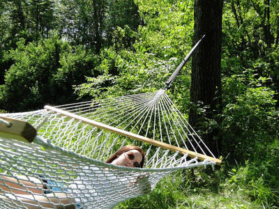 Cotton Rope Hammock Double | Hammock Universe Canada natural