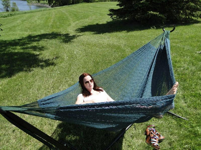XL Thick Cord Mayan Hammock with Universal Stand - Hammock Universe Canada