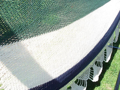 Nicaraguan Hammock with Stand | Hammock Universe Canada green blue and white close up