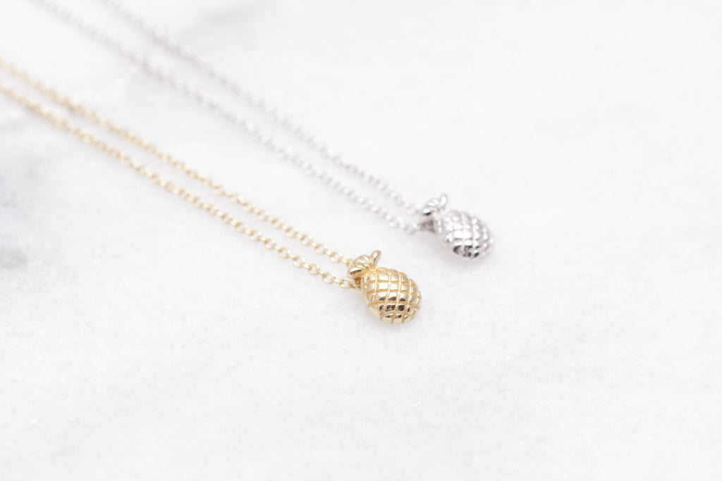 Petite Pineapple Necklace