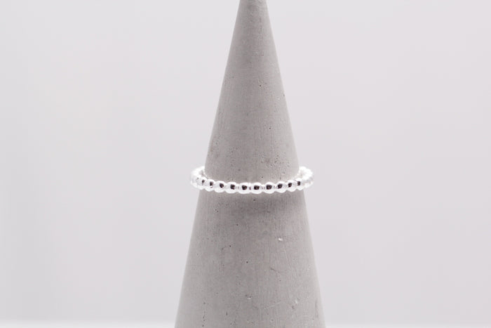 Beaded Stacker Ring