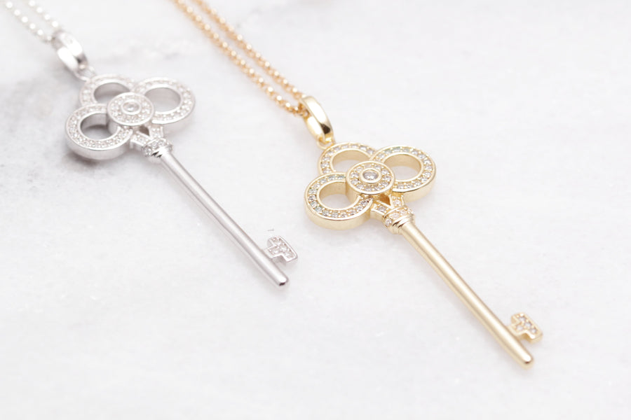 Long Key Necklace