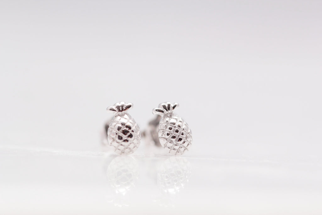 Teenie Pineapple Studs