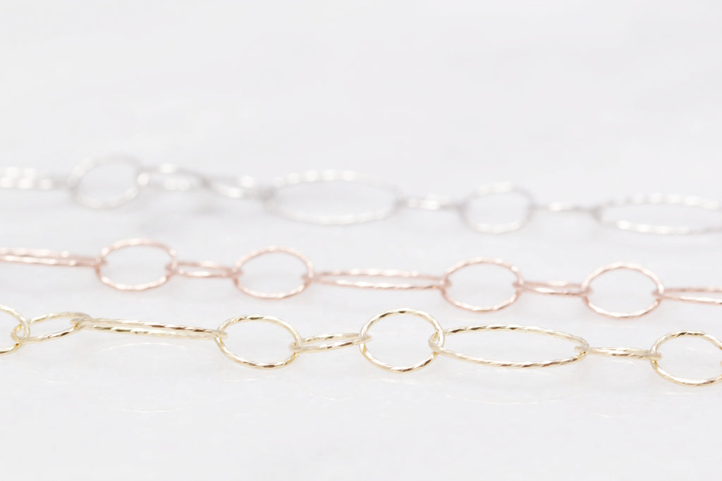 Diamond Cut Circle Bracelet