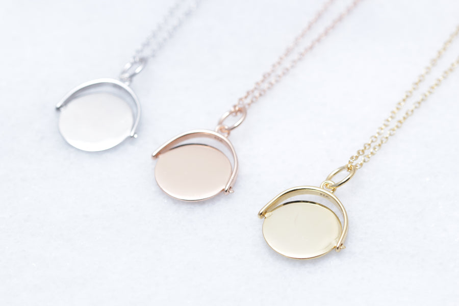 Flip Coin Necklace