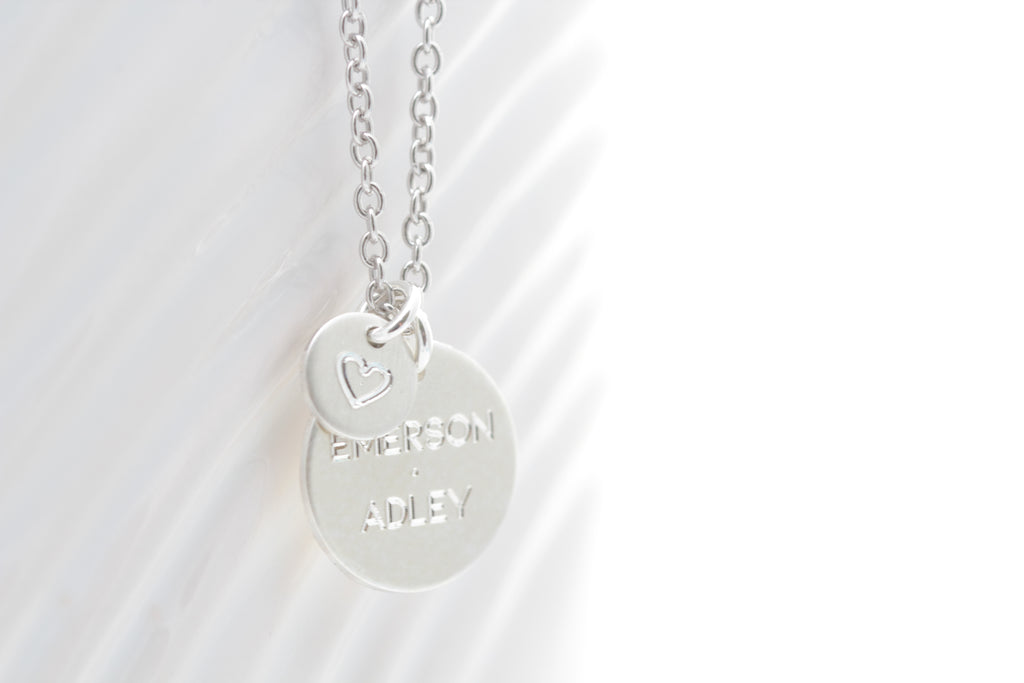 """With Love"" Name Necklace"