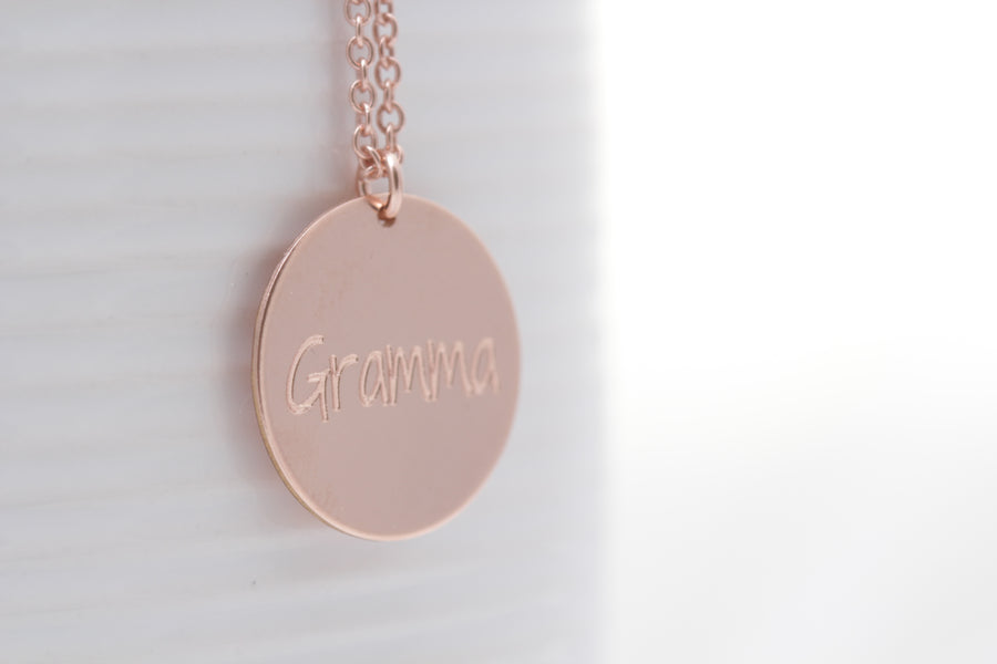"""Family"" Necklace"
