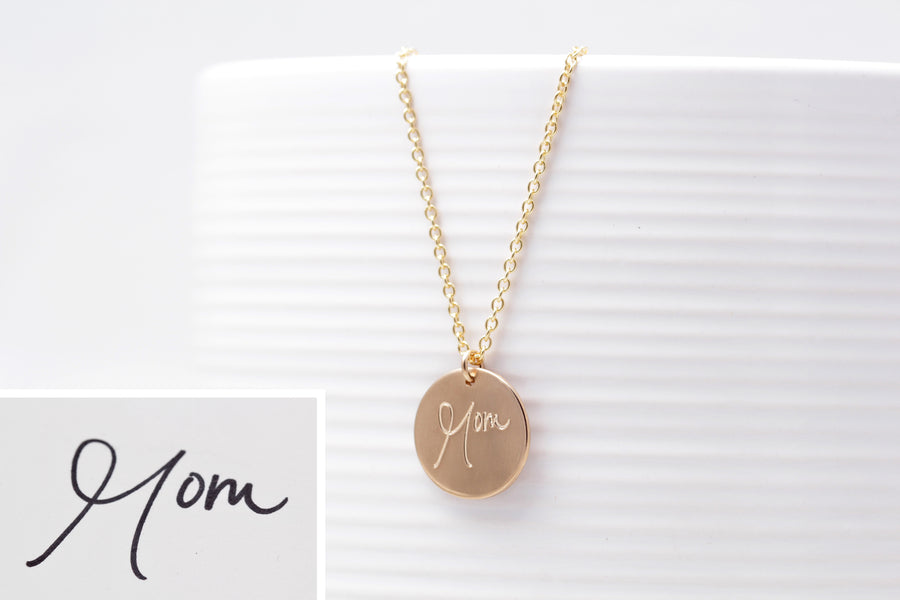 Personalized Handwritten Necklace