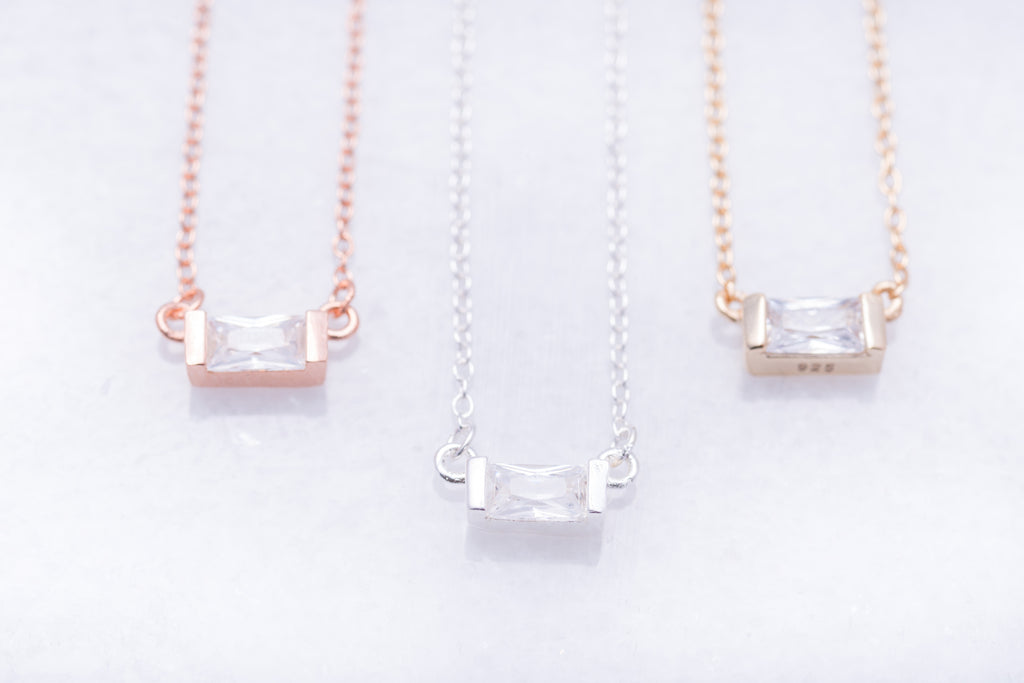 Petite Crystal Necklaces