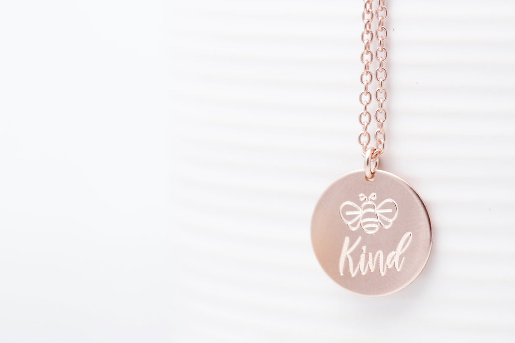 'Bee' Kind Necklace