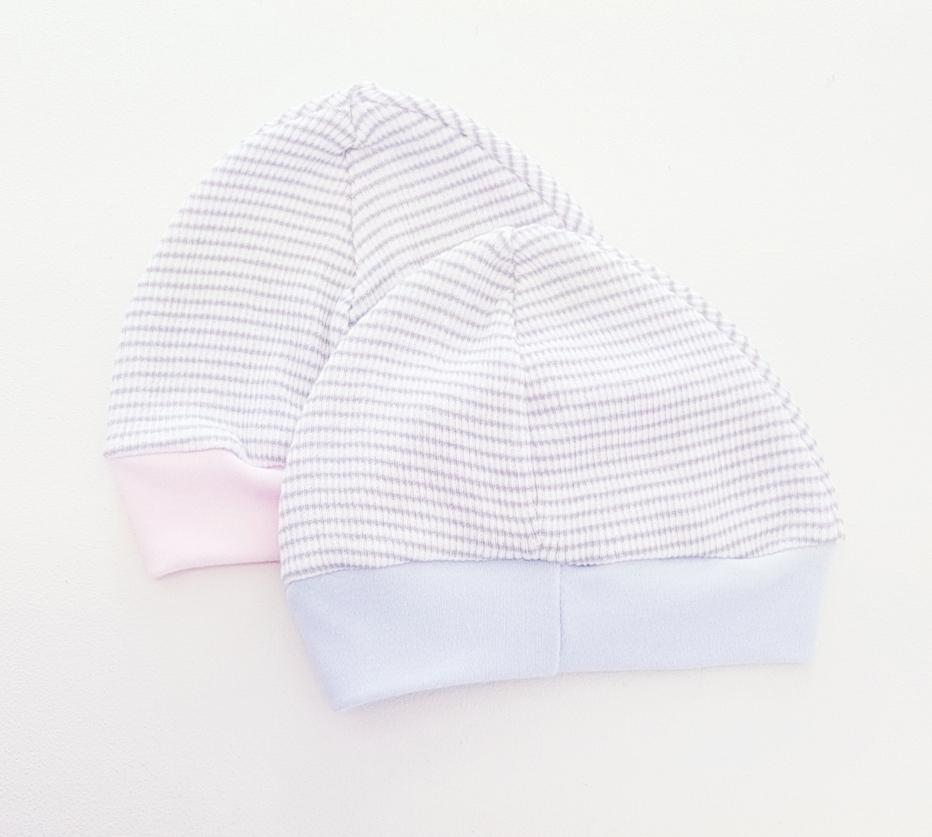 Paty Inc Ribbed Knit Beanie w/ Stripes
