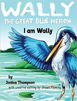 Wally the Great Blue Heron