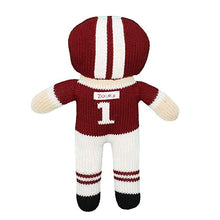 Load image into Gallery viewer, Zubels Maroon/White Football Player