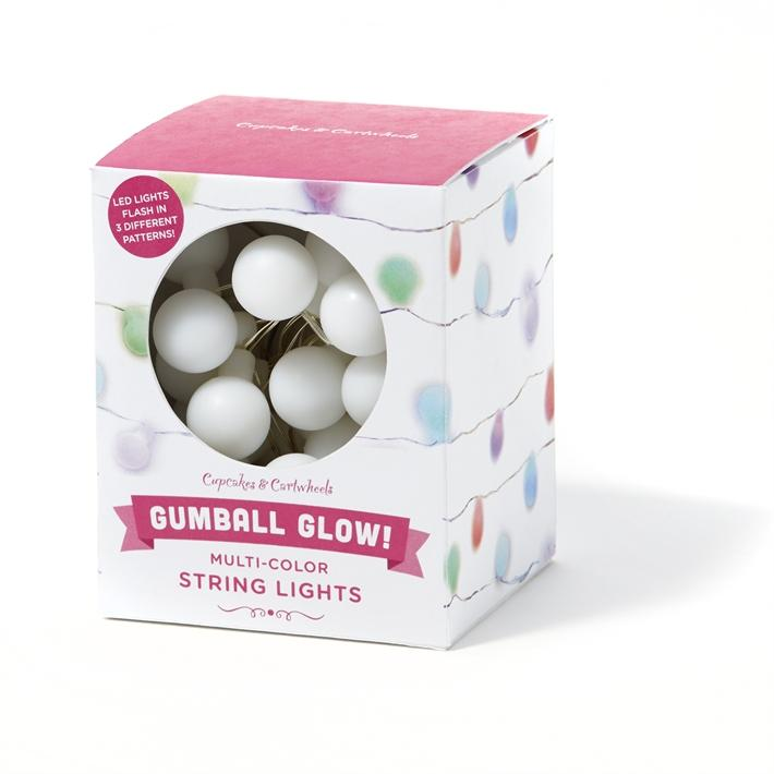 Two's Company Gumball Glow Strong Lights