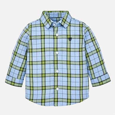 Mayoral Checked Shirt-Kale