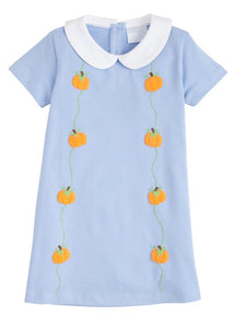 Little English Phoebe Dress- Pumpkins