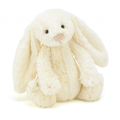 Jellycat Bashful Cream Bunny-Medium