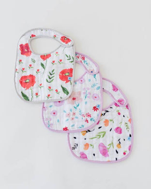 Little Unicorn Classic Bib 3 Pack ( various styles)