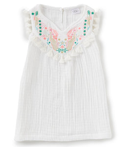 EGG by Susan Lazar Daniella Dress- White