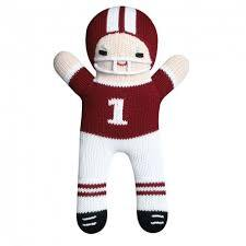Zubels Maroon/White Football Player