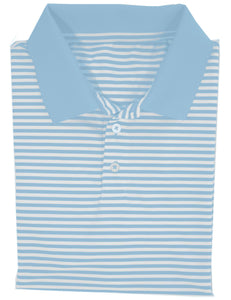 Properly Tied LD Gameday Polo in Powder Blue
