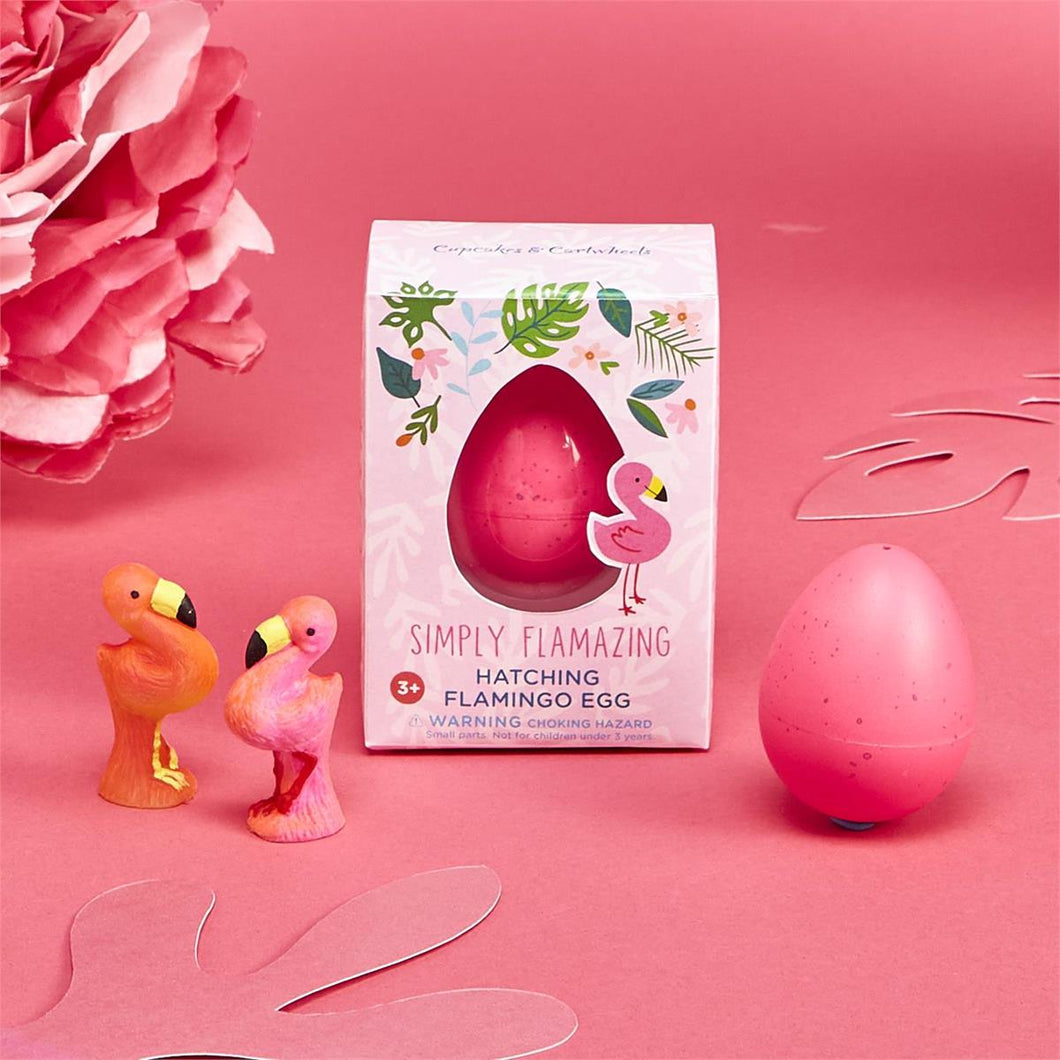 Two's Company Simply Flamazing Hatching Flamingo Egg