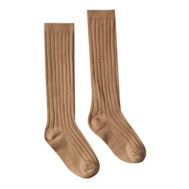 Rylee & Cru Solid Knee Socks- Truffle