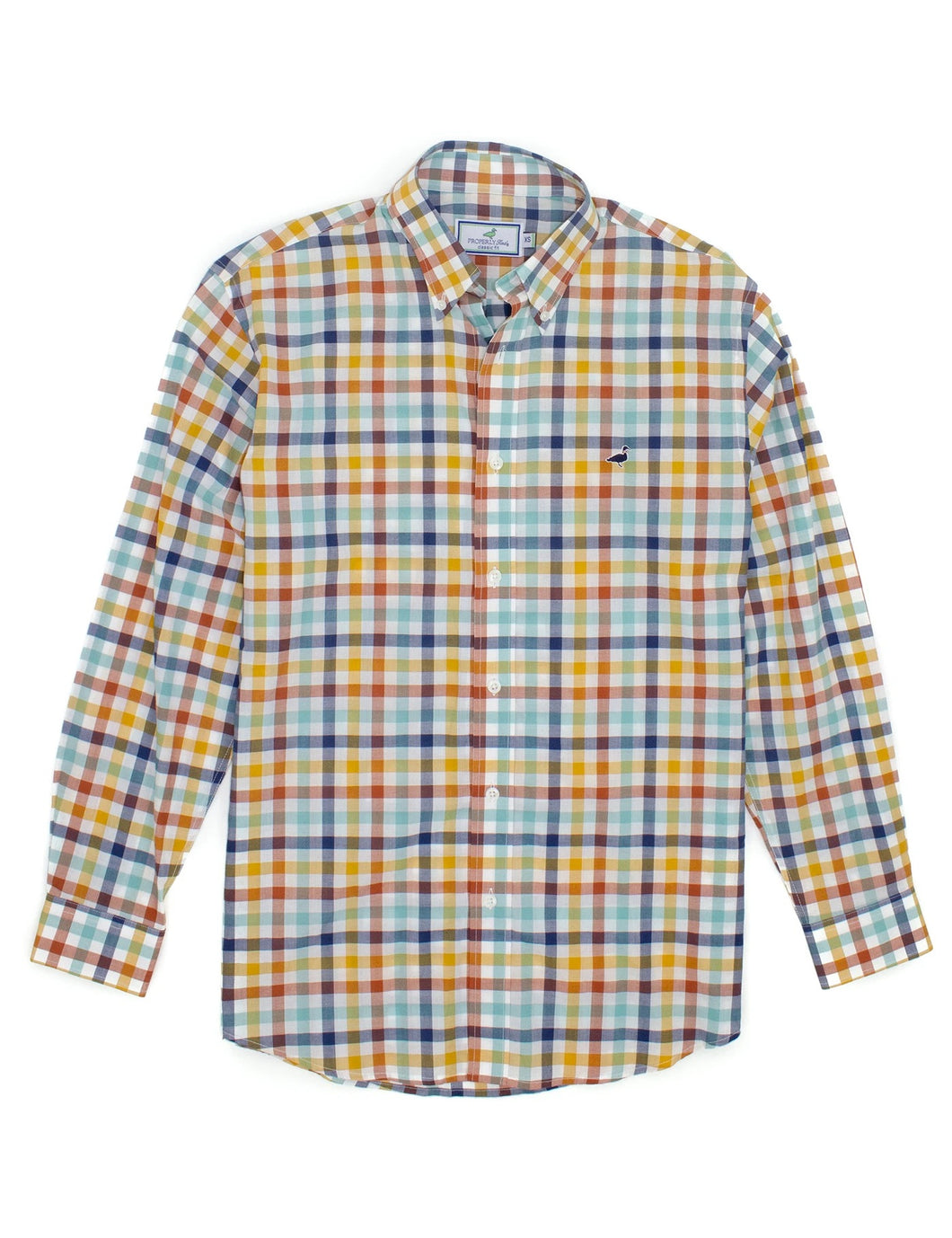 Properly Tied Plaid Buttondown