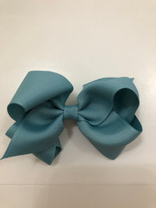 Wee Ones Teal Bow- Small
