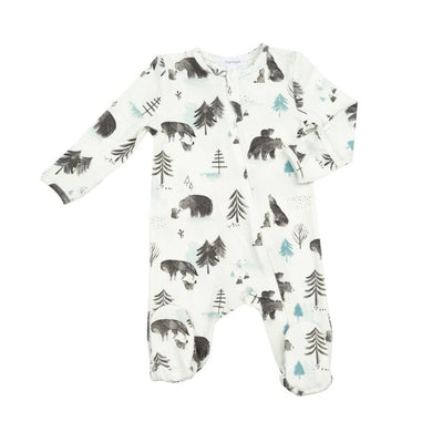 Angel Dear Mama and Cubs Zipper Footie