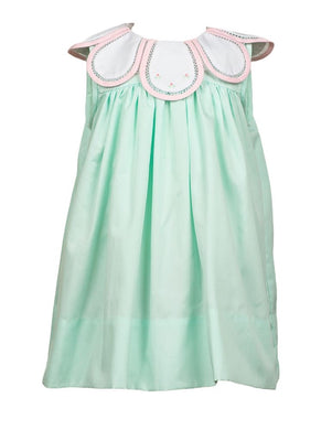 Proper Peony Mint Green Tulip Bloom Dress