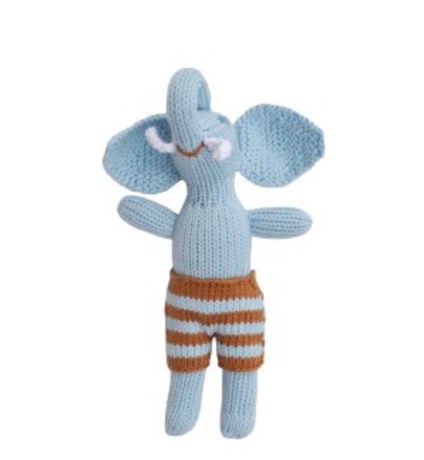 Blabla original boy Elephant rattle