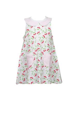 Cherry Pocket Dress