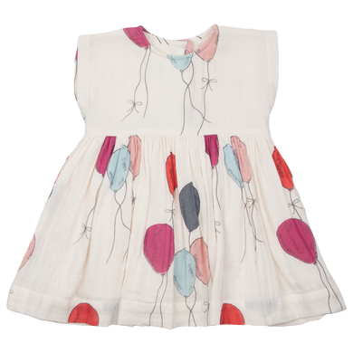 Pink Chicken Adaline Dress- Multi Balloons