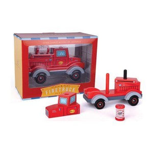 Jack Rabbit Stack and Play Firetruck