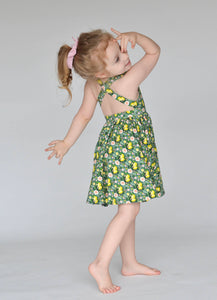 Sofia Dress in Lemon Floral