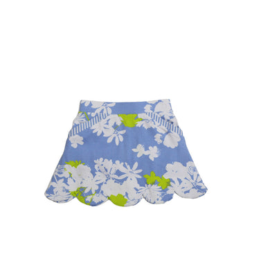 Three Friends Peri Garden sassy scallop skort