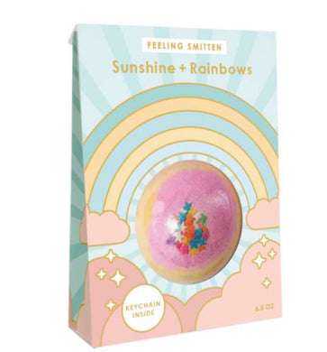 Sunshine & Rainbow Bath Bomb