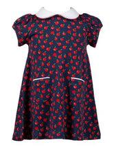 Load image into Gallery viewer, Proper Peony Parkside Knit Archer Apples Dress