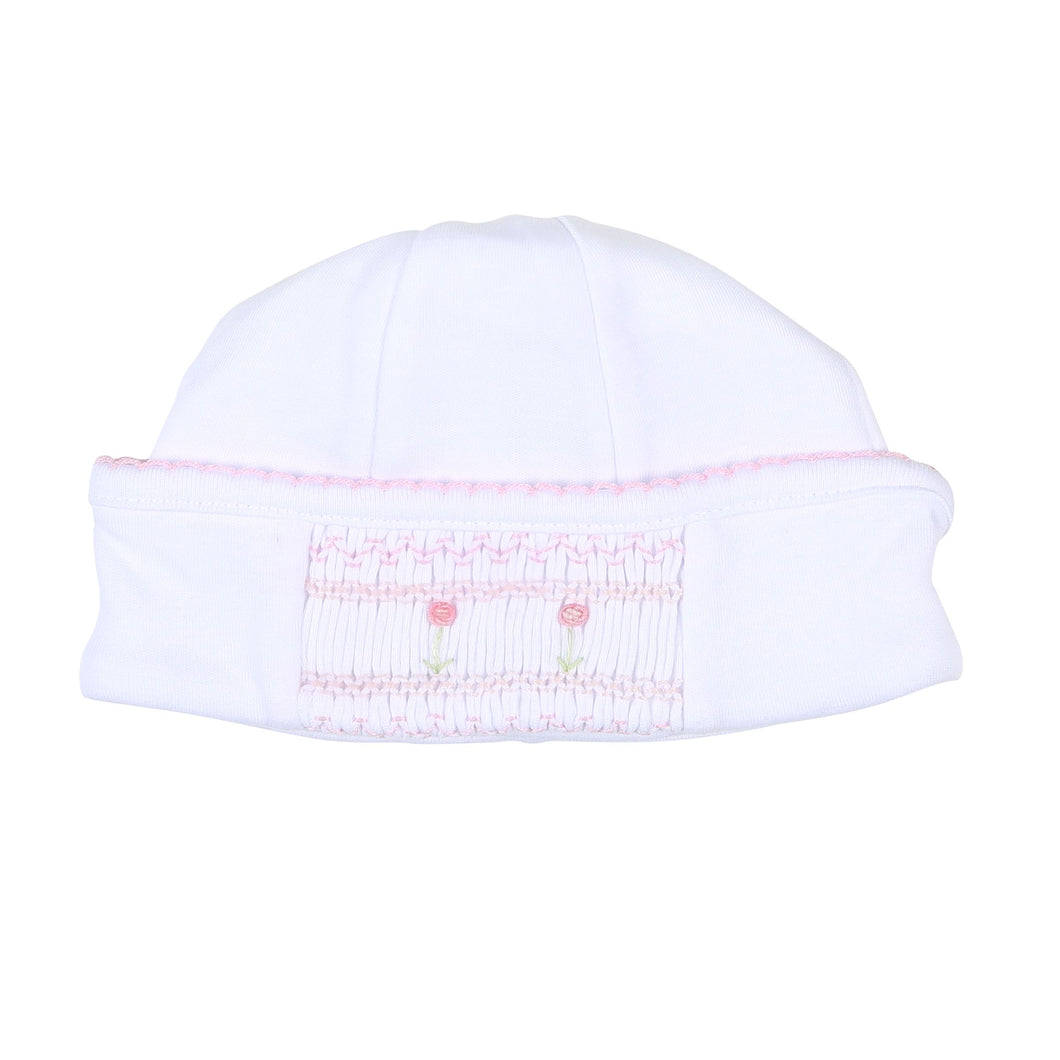 Becky and Ben's Classic Smocked Hat-PINK