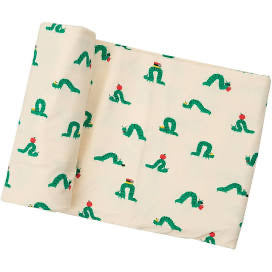 Angel Dear Inchworm Swaddle Blanket